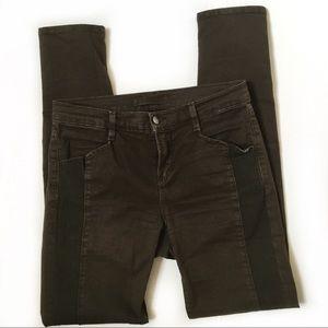 J Brand Kinsey paneled skinny jean